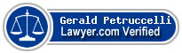 Gerald F. Petruccelli  Lawyer Badge