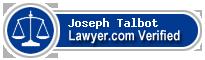 Joseph Talbot  Lawyer Badge