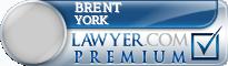 Brent A. York  Lawyer Badge