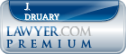 J. William Druary  Lawyer Badge