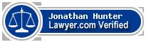 Jonathan Patrick Hunter  Lawyer Badge