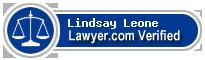 Lindsay F. Leone  Lawyer Badge
