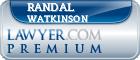 Randal E. Watkinson  Lawyer Badge