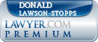 Donald S. Lawson-Stopps  Lawyer Badge