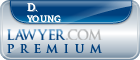 D. Kelley Young  Lawyer Badge