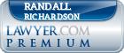 Randall Richardson  Lawyer Badge