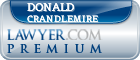 Donald C. Crandlemire  Lawyer Badge