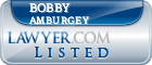 Bobby Amburgey Lawyer Badge