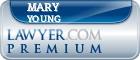 Mary James Young  Lawyer Badge