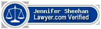 Jennifer Hale Sheehan  Lawyer Badge