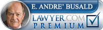 E. Andre' Busald  Lawyer Badge