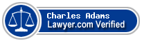 Charles C. Adams  Lawyer Badge