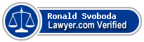 Ronald D. Svoboda  Lawyer Badge