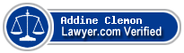 Addine Michelle Clemon  Lawyer Badge