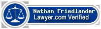 Nathan P. Friedlander  Lawyer Badge