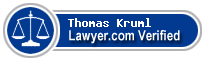 Thomas S. Kruml  Lawyer Badge