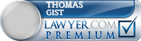 Thomas J. Gist  Lawyer Badge