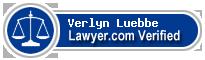 Verlyn Luebbe  Lawyer Badge