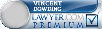 Vincent L. Dowding  Lawyer Badge