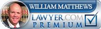 William B. Matthews  Lawyer Badge