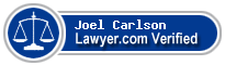 Joel E. Carlson  Lawyer Badge