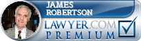 James Earl Robertson  Lawyer Badge