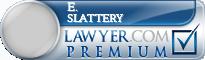 E. Michael Slattery  Lawyer Badge
