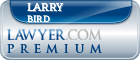 Larry D. Bird  Lawyer Badge