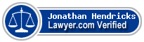 Jonathan Michael Hendricks  Lawyer Badge