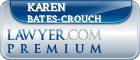 Karen A. Bates-Crouch  Lawyer Badge