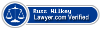 Russ Wilkey  Lawyer Badge