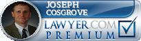 Joseph P. Cosgrove  Lawyer Badge