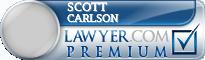 Scott E Carlson  Lawyer Badge
