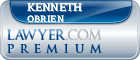 Kenneth E. OBrien  Lawyer Badge
