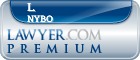 L. D. Nybo  Lawyer Badge