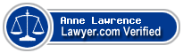 Anne Lawrence  Lawyer Badge