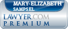 Mary-Elizabeth M. Sampsel  Lawyer Badge