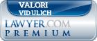 Valori E. Vidulich  Lawyer Badge