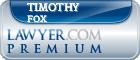 Timothy C. Fox  Lawyer Badge