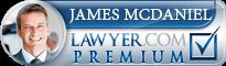 James R. McDaniel  Lawyer Badge