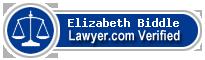Elizabeth E. Biddle  Lawyer Badge