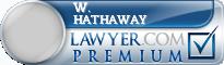 W. John Hathaway  Lawyer Badge