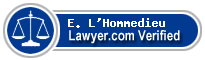 E. Christopher L'Hommedieu  Lawyer Badge