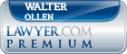 Walter T. Ollen  Lawyer Badge