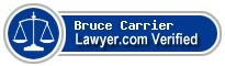 Bruce A. Carrier  Lawyer Badge