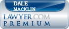 Dale S. Macklin  Lawyer Badge
