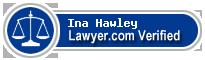Ina Helen Hawley  Lawyer Badge
