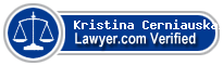 Kristina Cerniauskaite  Lawyer Badge