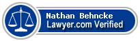Nathan Maynard Behncke  Lawyer Badge