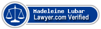 Madeleine Kelly Lubar  Lawyer Badge